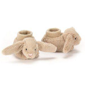 Jellycat Bashful Bunny Baby Booties 0-3M